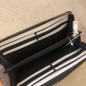 Coach Bags - Coach Black Leather Wallet NWT